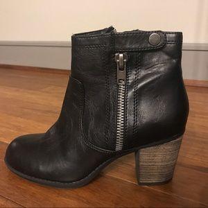 Crown Vintage Shoes - Crown Vintage | Booties With Zippers & Buckle